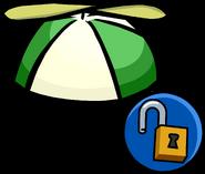 Gorra con Hélice Verde icono desbloqueable