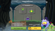 Halloween Party 2016 app interface page 4