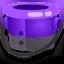Ink or Swim purple bucket icon