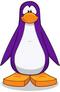 Pinguino violeta