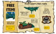 Rockhopper's Rare Items July 2011