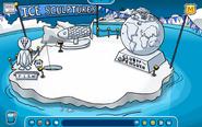Snow Iceberg