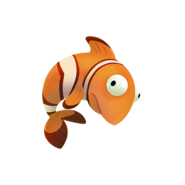 Fishing loot Clown Fluffy