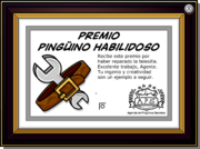 Handy Penguin Award full award es