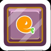 Pin de Puffito Naranja icono
