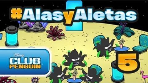 Alasyaletas - Episodio 5 Club Penguin oficial