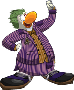 Joker Batman Arkham Asylum Club Penguin