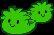Pantuflas de Puffle Verde icono