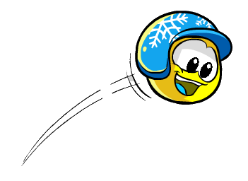 File:Yellow Puffle With Hat.png