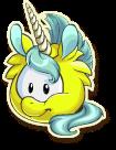 Yellow unicorn selected