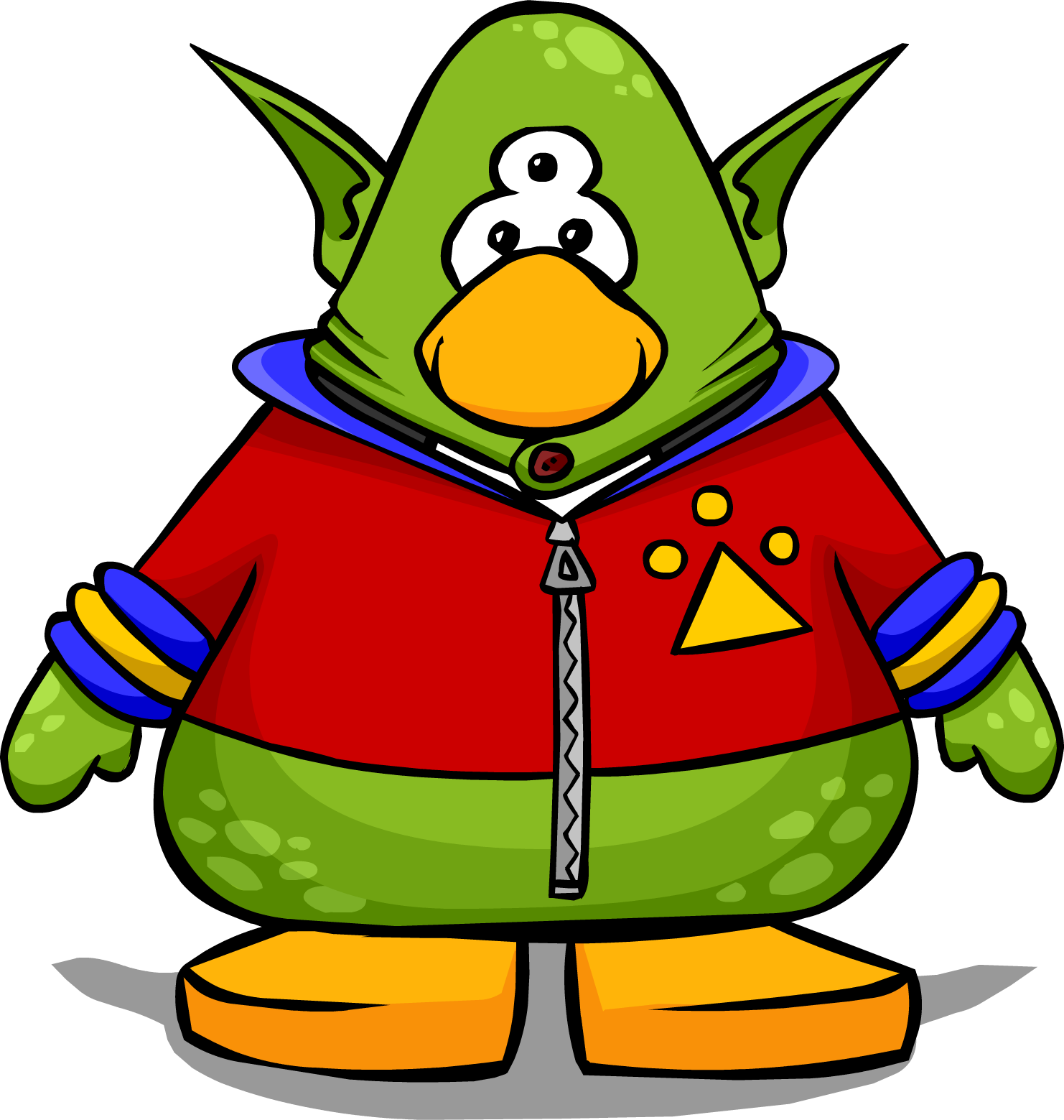 Image result for Aliens of club penguin""