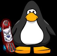 Bad Bear Skateboard on Player Card