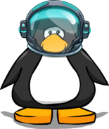 EPF Space Helmet on a Player Card