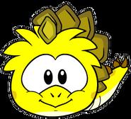 Estegopuffle amarillo