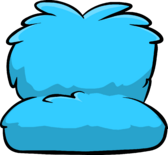 Fuzzy Blue Couch icon ID 832