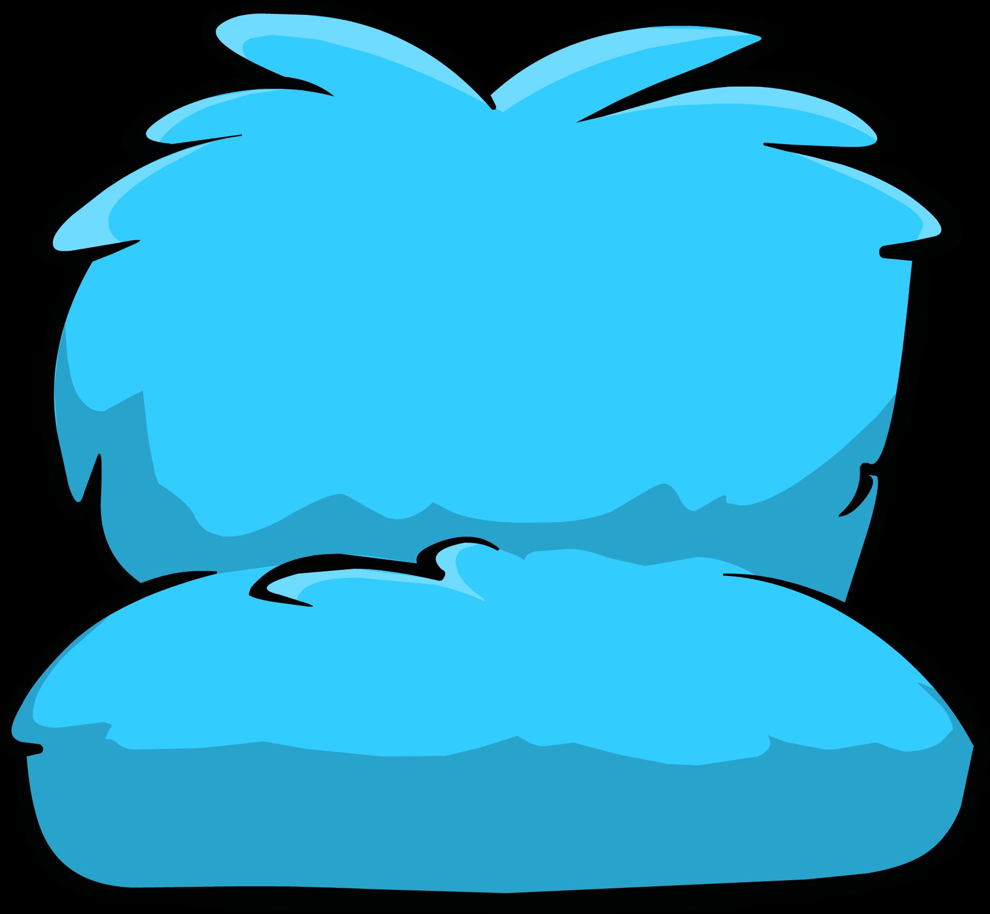 Fuzzy Blue Couch Club Penguin Wiki Fandom Powered By Wikia
