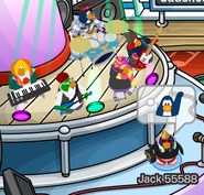 Me with the Penguin Band
