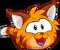 Puffle 2014 Transformation Player Card Orange Tabby Cat