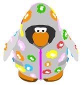 Puffle Raincoat ingame