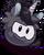 Puffle Unicornio Negro