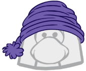 Purple Toque clothing icon ID 1597