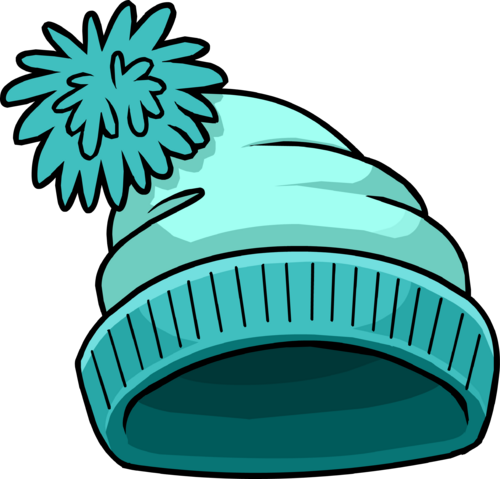 File:Turquoise Toque puffle hat.png