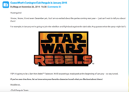 What's New Blog confirms Star Wars Rebel Takeover