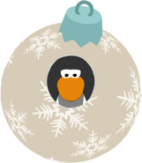 417px-White Snowflake Bauble in-game