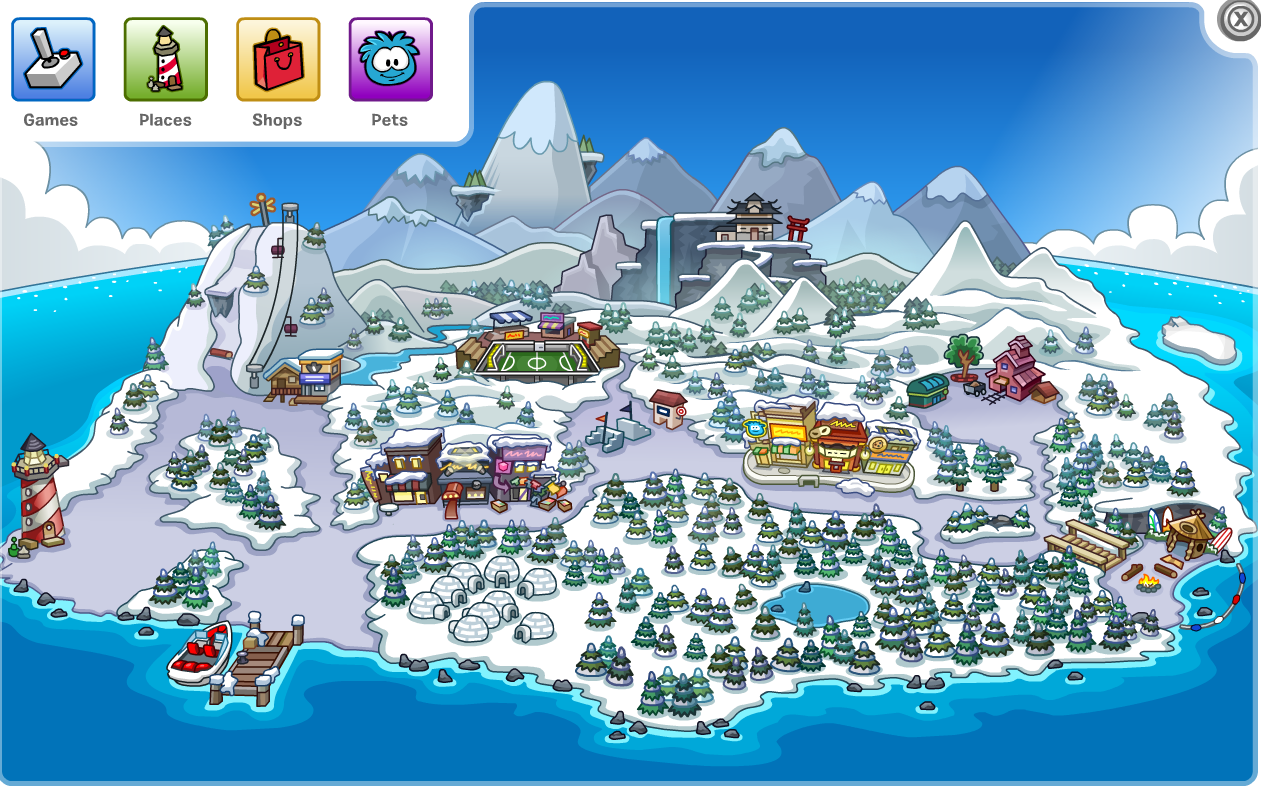 Club Penguin Map Portal:Rooms | Club Penguin Wiki | FANDOM powered by Wikia