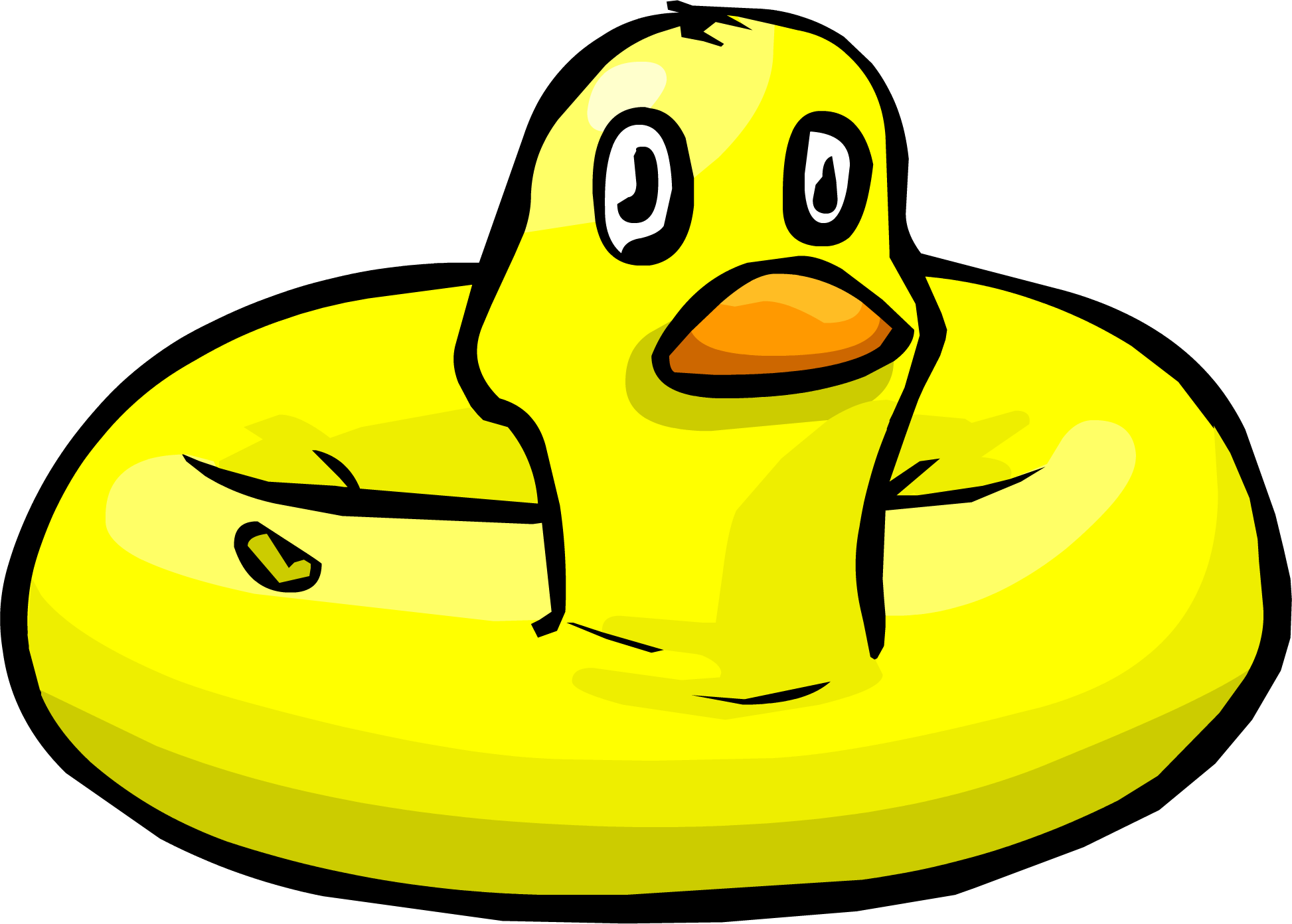 Image result for club penguin duck