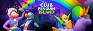 Club Penguin Celebración Arcoíris Redes Sociales Encabezado