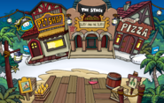 Island Adventure Party 2010 Plaza