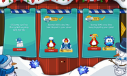 Merry Walrus Party interface completed page 1