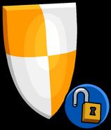 Orange Shield unlockable icon