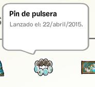Pin de Pulsera album