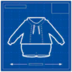 Blueprint hoodieAndVest icon