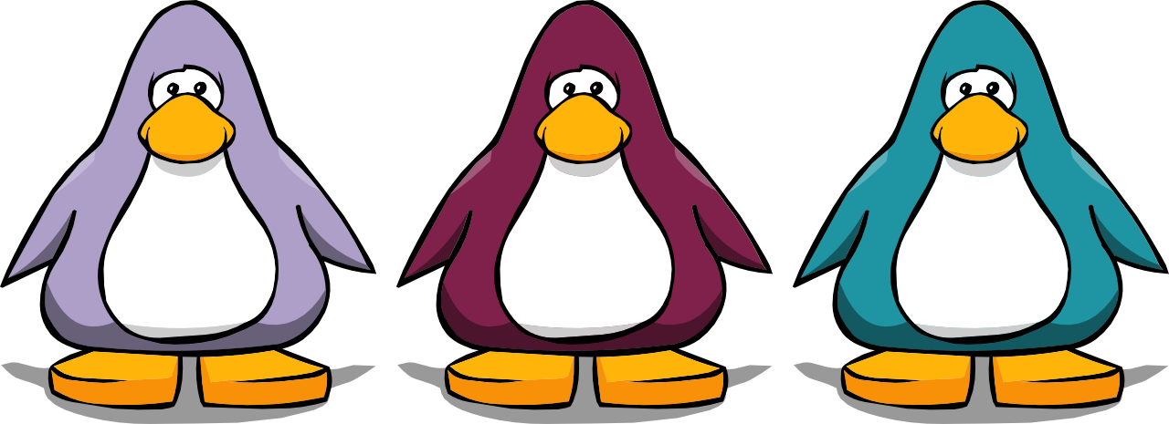 2009 color vote - Penguin Pictures To Color