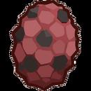 Prehistoric 2013 Eggs Triceratops Red