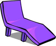 Purple Plastic Lawn Chair sprite 006