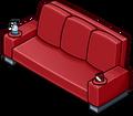 Red Designer Couch sprite 008
