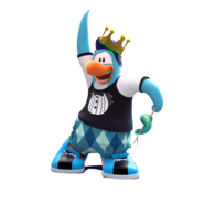CrownPenguinSquidStick