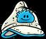 Gorra con Puffle Celeste icono