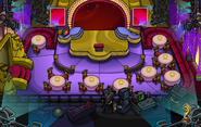 Hollywood Party Stage Gold