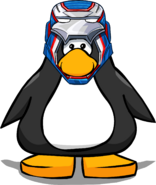 Iron Patriot Helmet from a Player Card