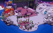 La Playa durante el Show de Estrellas