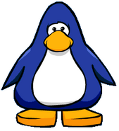 Oldblue penguin