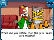 Rookie investigating java bags