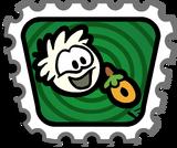 White Puffle stamp