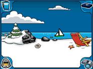 Beach sailboat