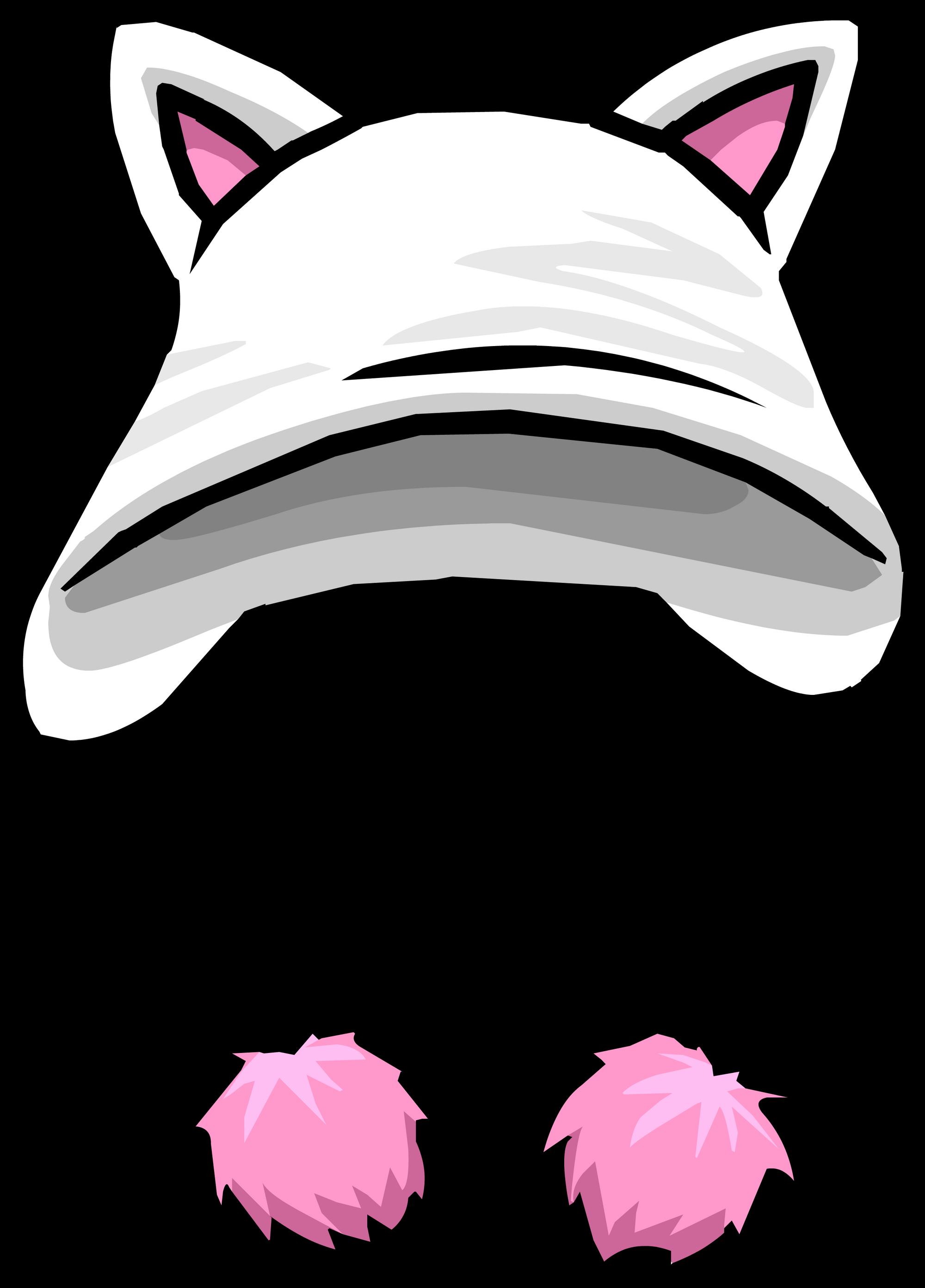 Sombrero de Gatito Blanco | Club Penguin Wiki | FANDOM powered by Wikia
